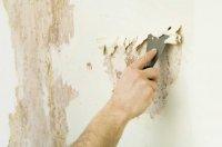 Як видалити стару фарбу зі стін?