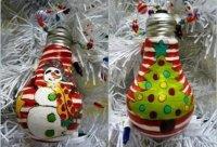 Як зробити новорічні ялинкові іграшки самому