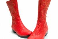 Як носити кольорові чоботи