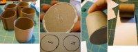 Прості іграшки на ялинку з паперу