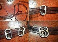 Як зробити незвичайний браслет зі стрічки своїми руками