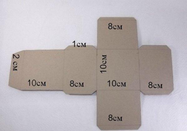Как сделать коробку для подарка своими руками из бумаги