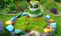 Як за допомогою каменів зробити декор присадибної ділянки