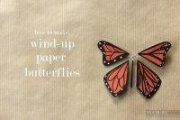 Як зробити метелика з дроту, який вміє махати крилами