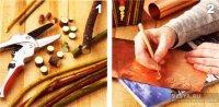 Декор дерев'яної шпаківні своїми руками