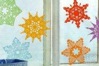 Як робити сніжинки з паперу в кельтському стилі