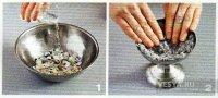 Як зробити тарілки з газети з декоративним розписом своїми руками