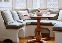 Як вибрати м'який куточок або диван для кухні