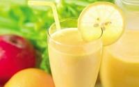 Коктейль для похудения - яблоки, лимон, грейпфрукт