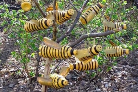 Как сделать поделку улей пчелы