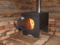 Як зробити металеву піч на дровах для дачі
