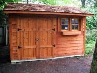 Як побудувати сарай з односхилим дахом своїми руками