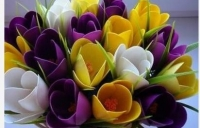 Як зробити квіти з холодного фарфору