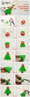 Як зробити міні ялинку з бісеру. Новорічні іграшки на ялинку