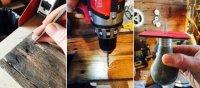 Як зробити вішалку для дачі