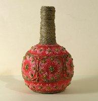Як зробити вазу з пляшки?