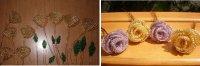 Як зробити троянди з бісеру майстер-клас з фото