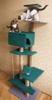 Як зробити своїми руками будиночок для кішки