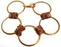 Як зробити браслети з дроту своїми руками