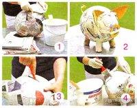 Як зробити свиню скарбничку своїми руками