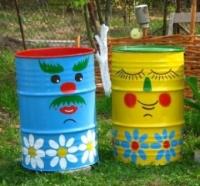 Ідеї для дачі та саду. Що можна зробити з підручних матеріалів в саду своїми руками