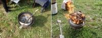 Як зробити піч із дисків колес для дачі самому своїми руками