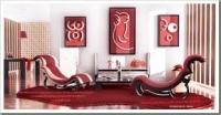 Червоний колір в інтер'єрі