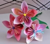Як зробити квітку кусудама