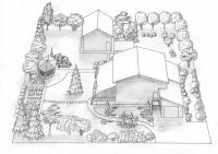 Як зробити ландшафтний дизайн на ділянці в 10 соток своїми руками
