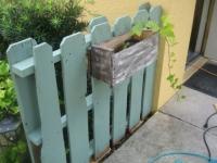 Вироби на дачі з дерев'яних палет, піддонів - ФОТО