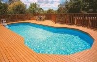 Перекис водню для догляду за басейном на дачі