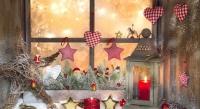Як прикрасити вікно на Новий рік. Новорічний декор. Відео